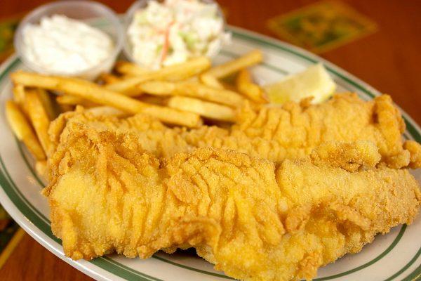 Fish Fry Haddock Dinner