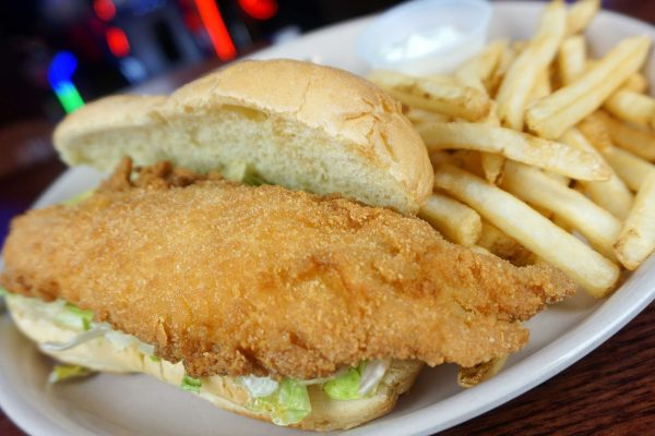 Fish Fry Haddock Sandwich