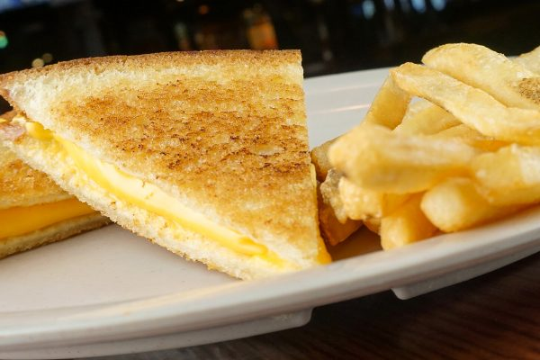 Grilled Cheese Sandwich & Fries
